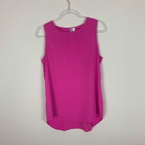 Alya | Pink blouse cutout back Size Large